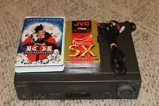 New listing Sharp Model Vc-H974U 4-Head Hi-Fi Vcr With Cables, Movie, and Blank Tape!