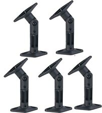 5 PACK UNIVERSAL CEILING WALL SATELLITE SPEAKER MOUNT BRACKETS HOME THEATER BOSE