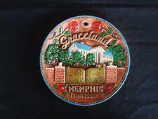 Collectible Plate Graceland - Home of Elvis - Memphis, Tennessee - Excellent