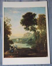 Claude Lorraine Art Postcard, Landscape: Hagar And The Angel, National Gallery