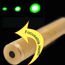 Focusable 532nm 30mW Green Laser Module/3V-3.7V/Adjustable Beam Size/Green Laser