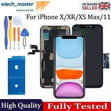 Para iPhone 11 X Xr Xs Max Reemplazo LCD Pantalla Táctil Digitalizador versión de actualización