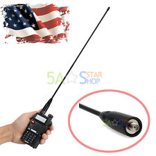 For BAOFENG NAGOYA NA-771 Antenna SMA Female Dual Band UHF Flexible Whip Radio