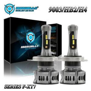 H4 9003 LED Headlight Bulbs for Honda CR-V 07-14 Toyota Tundra 01-19 Hi-Lo Beam