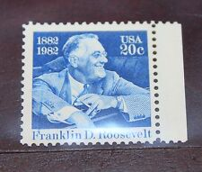 UN 20 Cent Stamp 1950 Franklin D Roosevelt 1882-1992, MNH