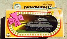 1973 Zee Toys WWll German King Tiger Die Cast Metal Tank 1.87 NIB Dynamights Toy