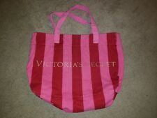 Victoria's Secret Bag Purse Womens Handbag Beach Shopping Pool Pink Two Tone