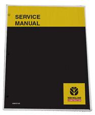 New Holland B95 B95tc B95lr B110 B115 Backhoe Service Manual Repair Book