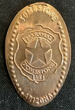 Copper! Marshal Badge - Tombstone Arizona Pressed Penny