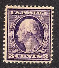 U.S. STAMPS #333 3c WASHINGTON-FRANKLIN DEFINITIVE 1908 MINT