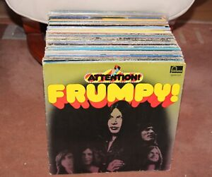 Schallplatte Sammlung LP Vinyl Konvolut ROCK Hardrock  IRON FRUMPY! QUEEN DYLAN