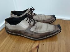 Bacco Bucci Size 11 Mens Distressed Vintage Loafers