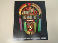 Music Machines – American Style 1971 Illustrated Victrola Jukeboxes Book