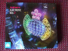 MINISTRY OF SOUND - ANTHEMS -  ELECTRONIC 80s Vol.2 - EXCELLENT CONDITION.