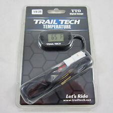 Trail Tech TTO Temperature Meter Black Digital Gauge 1/8x28 BSPP Screw 742-ES2