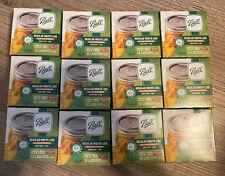 Ball Regular Mouth Lids Suretight 12 Lids Per Box Lot Of 12 Boxes