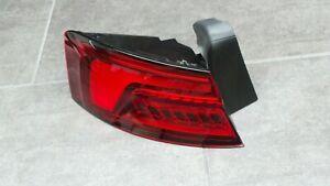 Audi A5 S5 RS5 F5 B9 LED Rear Light Taillight Left Outside 3.154 Km 8W6945091 J