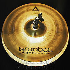 "Istanbul Agop Xist Brilliant Hi Hat Cymbals 13"" - Video Demo"