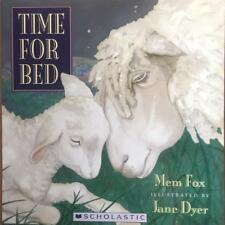 TIME FOR BED by Mem Fox ~ New Paperback