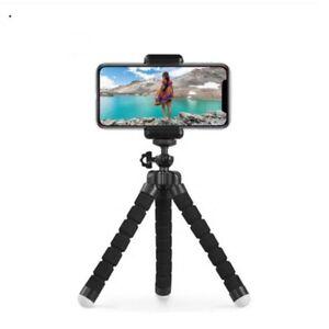 Mini trépieds pour smartphone et camera avec base flexible pour vélo et moto
