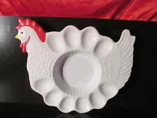 Egg Platter Chicken Design Easter Egg Platter Egg Plate Holder Chicken Design