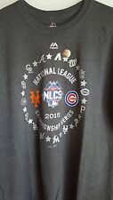NWT New York Mets Chicago Cubs 2015 NLCS Commemorative T-shirt XXL