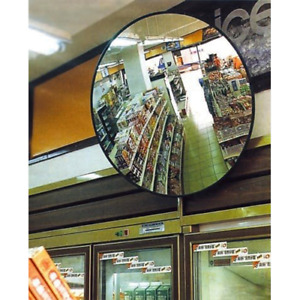 Round Indoor Traffic Convex Acrylic Security Mirror for Shop, Warehouse, Carpark