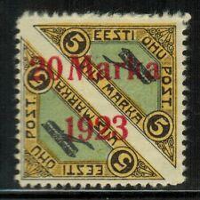 Estonia #C8 1923 MH