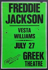 Freddie Jackson/Vesta Williams Vintage Boxing Style Concert Poster 1989 R&B Soul