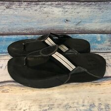 FitFlop Women's Size 10 Black Thong Style 1908