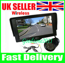 "9 IR LED Wireless Reversing Camera + 4.3"" TFT LCD Monitor Car Rear View Kit UK"