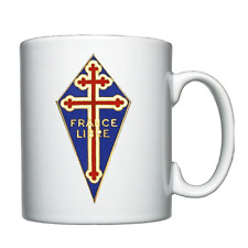 Free French Badge, Cross of Lorraine, Forces Françaises Libres, FFL  -  Mug
