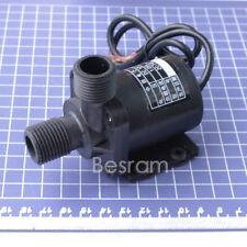 12V DC Mini Brushless Magnetic Self-priming Hot Water Pump High Temp 100℃