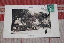 CPA - Toulon - Place Puget - 83 - Animée - Voyagée début 1900