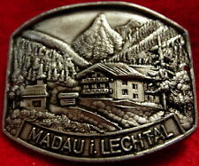 Madau i Lechtal Austrian medallion stocknagel G4795