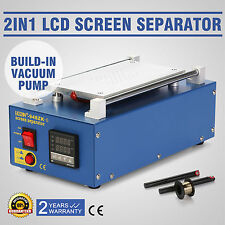 2 IN 1 VACUUM LCD Bildschirm Reparatur iPhone Repair Machine Screen Separator