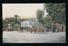 London HAMPSTEAD Bull & Bush Inn pre1919  machine made bread delivery PPC
