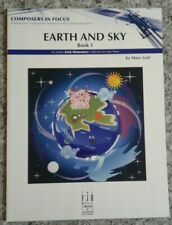 Earth And Sky Book 1 Mary Leaf Solo Collection For Elementary Piano