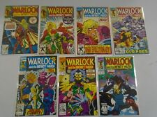 Warlock and the Infinity Watch lot 7 different from #1-16 8.0 VF (1992-93)