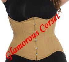 """Plus Size Corset Cotton Underbust Waist Training Size 30-40"""""""