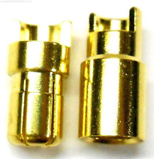 C0602 RC Connector 6mm Gold Plated Male and Female Bullet Banana x 1 Set