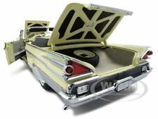 1959 MERCURY PARKLANE CONVERTIBLE YELLOW PLATINUM 1:18 MODEL BY SUNSTAR 5152