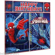 5 pezzi Marvel Ultimate Spider-man Festa di Compleanno Muro Decorazione KIT