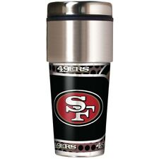 NFL San Francisco 49ers 360 Wrap Travel Tumbler Football Fan Coffee Mug Cup