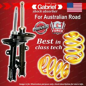 Front Gabriel Ultra Shocks + Lowered King Springs for Lexus RX330 MCU38R Wagon