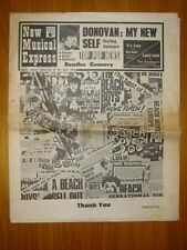 NME #1040 1966 DEC 17 BEATLES DONOVAN FACES ELVIS