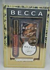 BECCA Glow Kitchen Kit Chrissy Cravings 4 Pc Set for Eye Lip Cheek & Face NIB
