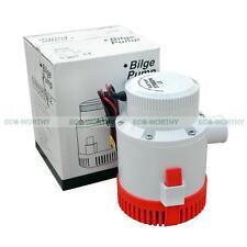 Non-Automatic Bilge Marine Pump 12V 3700 GPH Flow Rate for Farm Sea Ocean