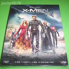 X-MEN TRILOGIA ORIGINAL EN BLU-RAY PACK NUEVO Y PRECINTADO XMEN