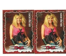 2004 TNA 2 SEXY GOLDYLOCKS WRESTLING CARDS 1 IS A RED PARALLEL #3